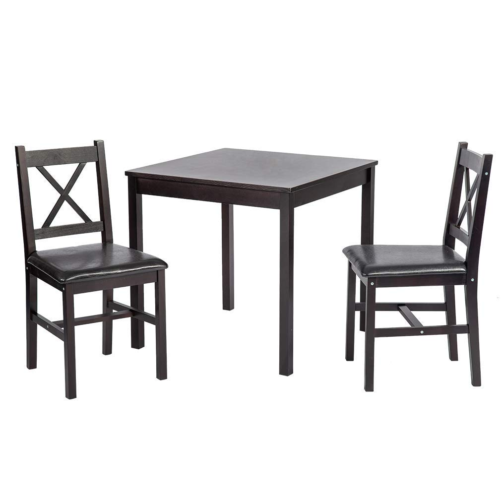 PayLessHere Dining Kitchen Table Dining Set Dining Room Table Set Table and Chair for 2 Person