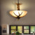 antler lights hotel lobby glass cover antler chandelier