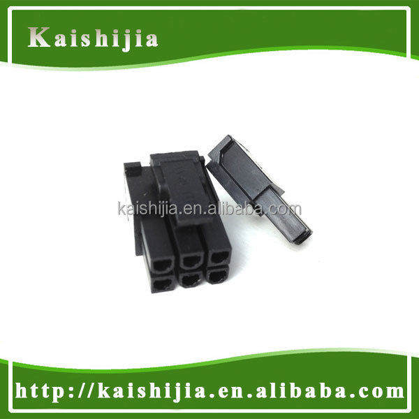Molex 4.2mm connector 6+2 Pin PCI-E Male computer cable connector