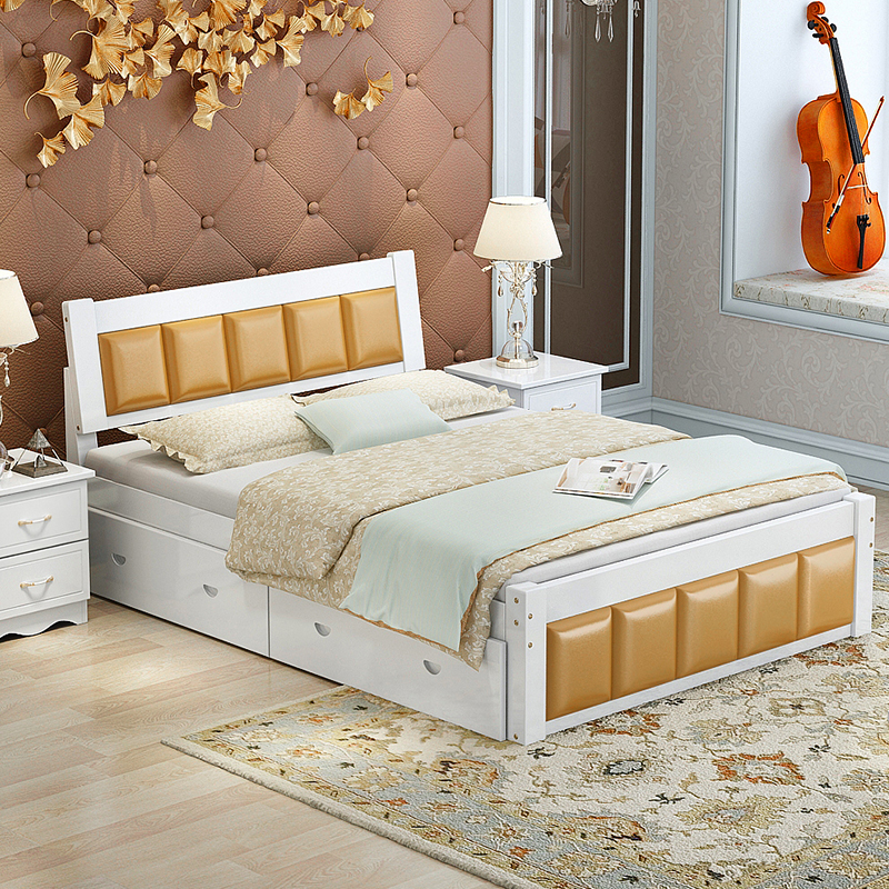 Venta al por mayor camas modernas king-Compre online los mejores ...
