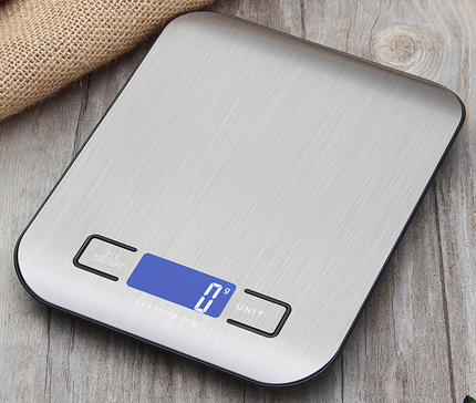 Hot Selling Digital Scale 11lb 5kg/1g Stainless Steel Food Scale Digital Kitchen