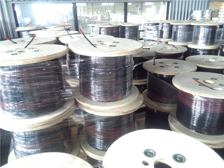 EN Certificated pv1f twin solar cable solar wire