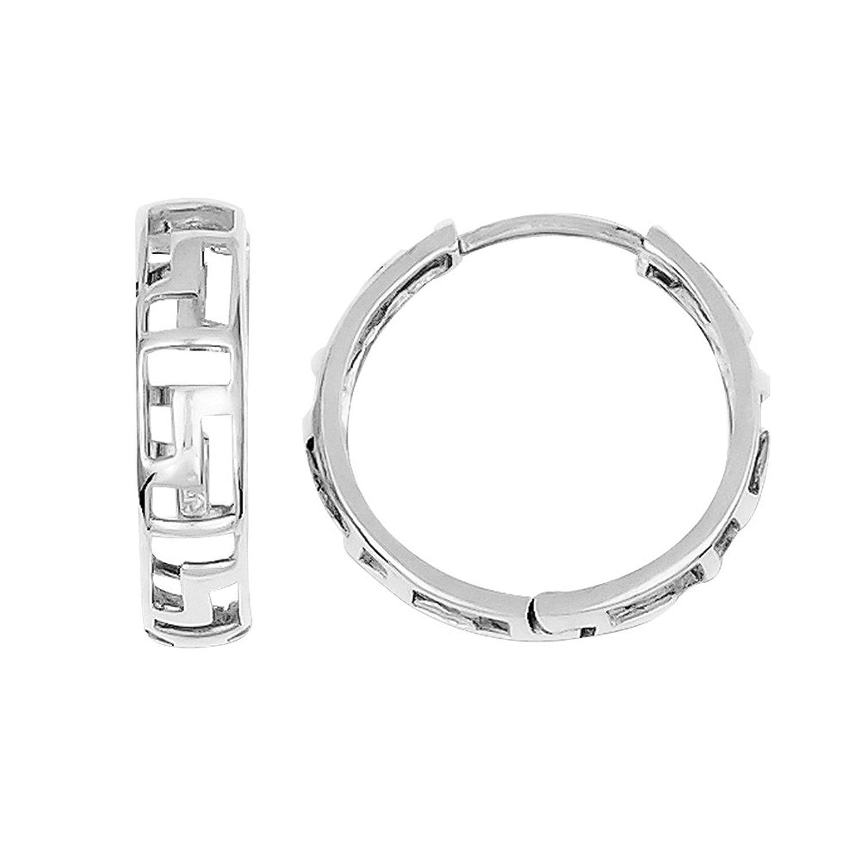 c5a0557782afe Cheap Gold Greek Key Earrings, find Gold Greek Key Earrings deals on ...