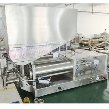 high precision paint filling machine with hopper 500-5000ml