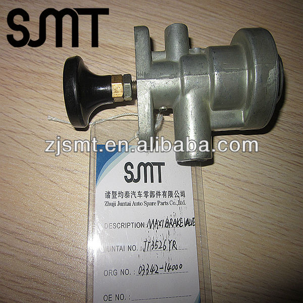 Maxi air Brake valve for truck parts of braking system 03342-14000 for cargo truck parts
