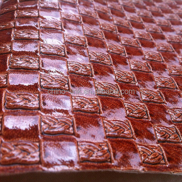 New pattern pvc synthetic leather for shoes upper