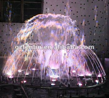 garden decoration water dancing waterfall fountain statue sculpture
