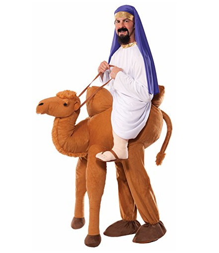 Funny Ride on A Camel Costume for Adults and Kids