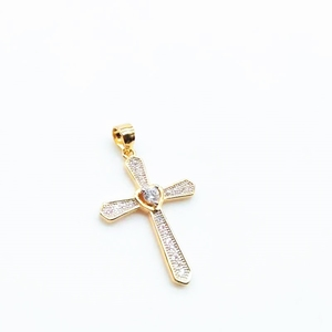 Silver Jewelry Pendant Necklace Stainless Steel Necklace Fashion Cross Jewelry