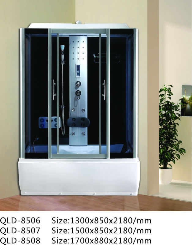 New Bathroom Designs Steam Sauna Shower Cubicle - Buy Enclosed ...