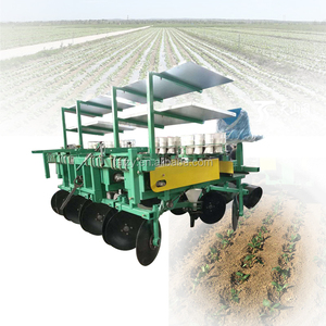 Good machine Vegetable tobacco seedling transplanter for US