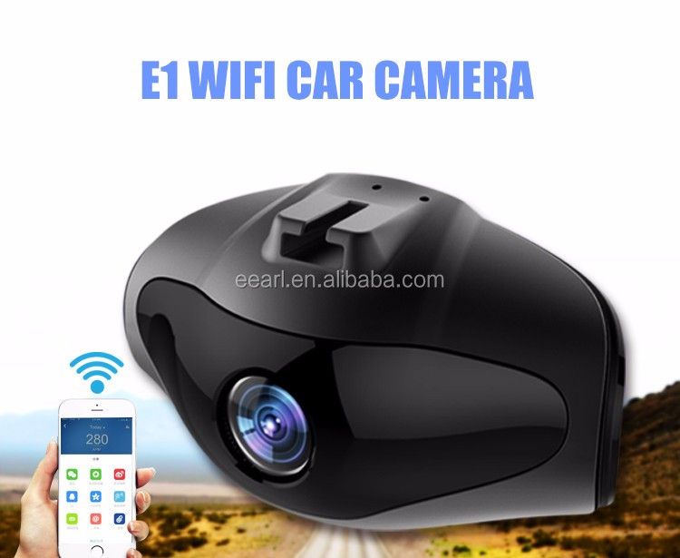 Factory 1.5 inch Wifi Car Dashboard Camera Full HD 1080P Novatek 96658 Sony Sensor G-Sensor