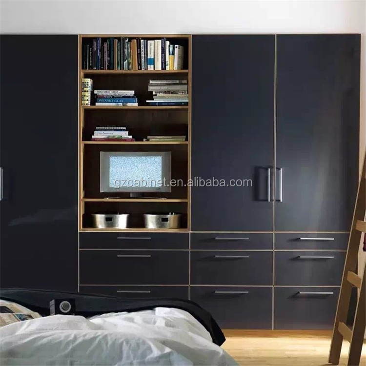 Custom Closet Wardrobe Closets With Tv Stand Foh Hct14