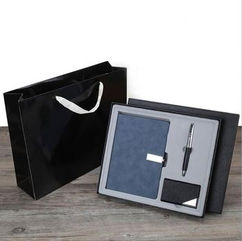 Promotion Gift sets for corporate with pen card holder