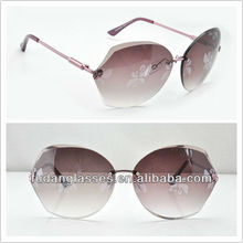 2013 newest arrival fashionable eyewear designed for women sunglasses special vogue frame sunglasses