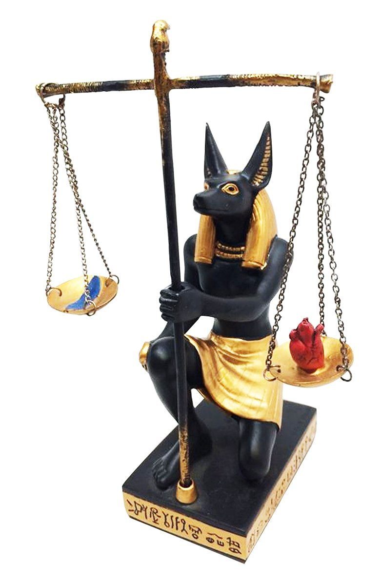 Get Quotations · EGYPTIAN DEITY ANUBIS JACKAL SCALES OF JUSTICE WEIGHING HEART u0026 FEATHER FIGURINE  sc 1 st  Alibaba & Cheap Anubis Costume find Anubis Costume deals on line at Alibaba.com