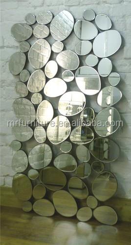 Specchi Moderni Senza Cornice.Signor 2q0114 Senza Cornice Specchio Moderno Da Parete Ciottoli