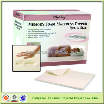 topper memory linenspa mattress size queen toppers ventilated foam lucid inch