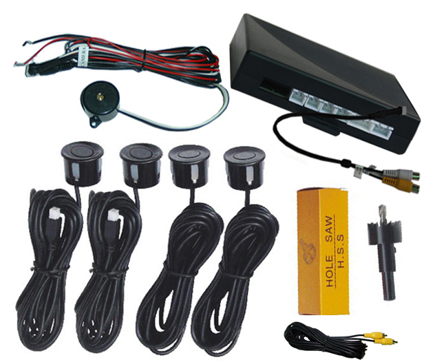 VIDEO PARKING SENSOR CAN CONNECT ANY CAR MONITOR AND CAMERA