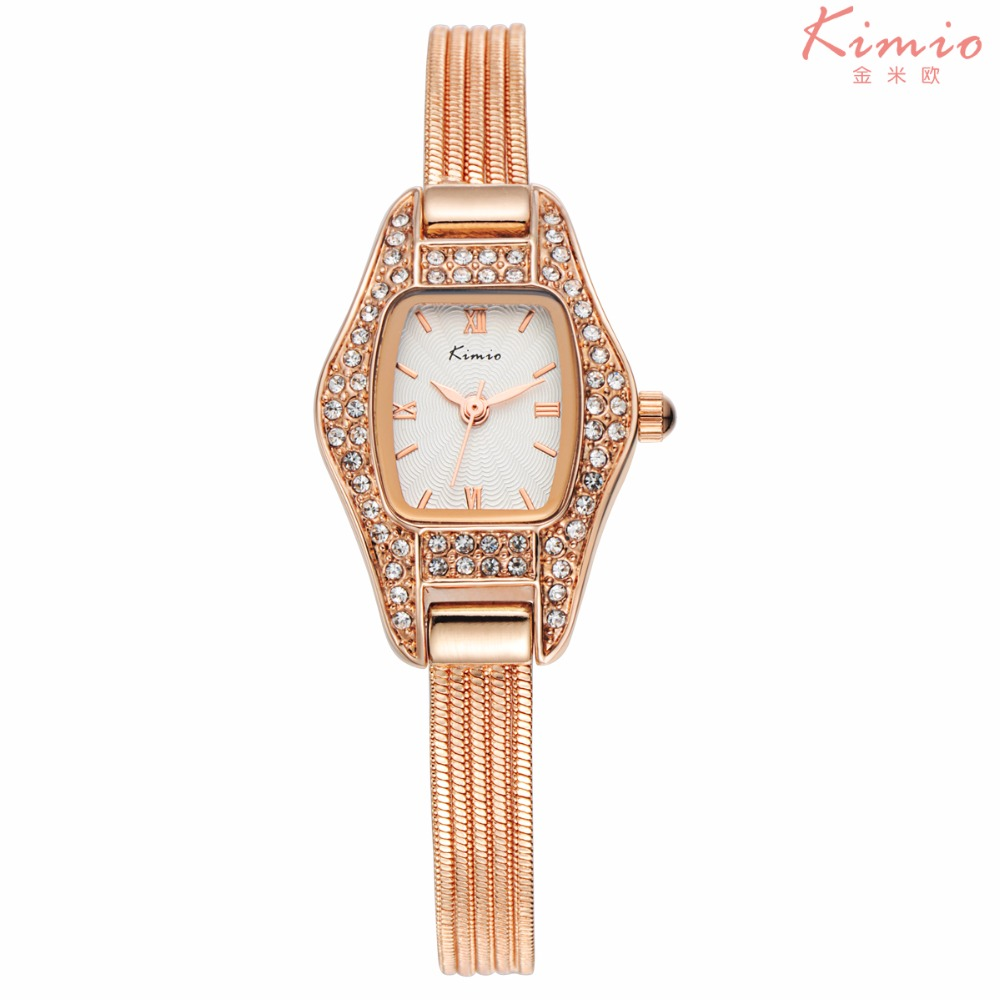 KIMIO brand KW539S diamond wrist high quality women hand watch