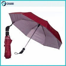 Portable assured quality nice design umbrella fold wind rain