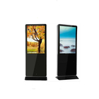 HD video digital signage totem, lcd ad player in supermarket