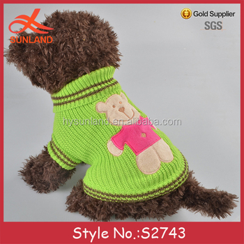 S2743 Fashion Pet Clothes Accessories Free Knitting Crochet Patterns