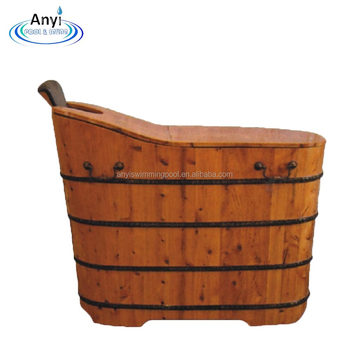 Canada Cedar Wooden Barrel Bathtub Bath Tub With Cover View Wooden Bathtub Kingford Product Details From Guangzhou Anyi Swimming Pool Equipment Co
