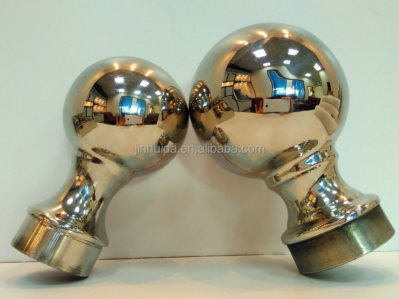 High quality balustrade ball post cap world cup type pipe