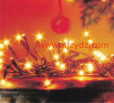 festival shining star Christmas tree decration rope light
