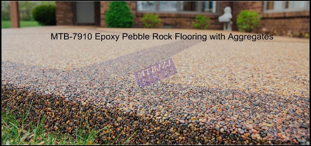 Epoxy Pebble Stone Flooring
