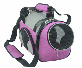 Portable iata Pet Travel Carrier ,Soft Side Pet Carrier parts for small animals