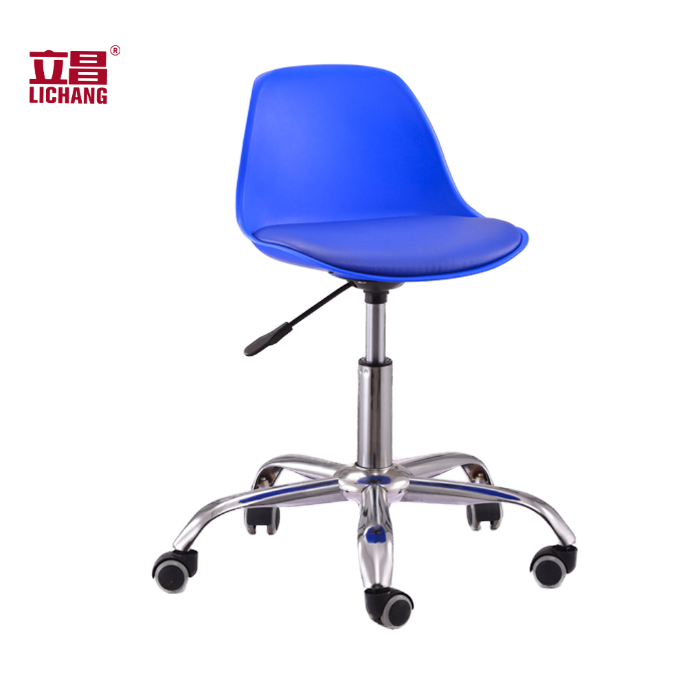 Padded Plastic Swivel Chair