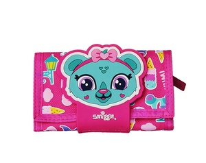 smiggle kids cute cartoon trifold wallets