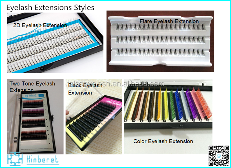 Antibacterial Eyelashes Extension In Wholesale,Silk Lash Eyelash ...