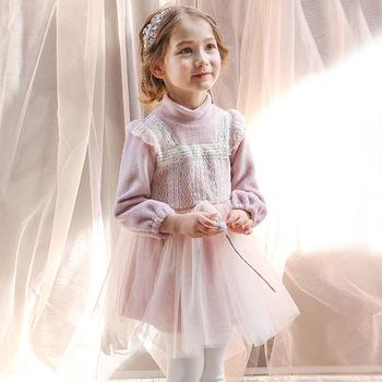 De Princesa Para 2016 Niña Dulce Vestido Nueva Bebé Niños Encaje WZnfRA