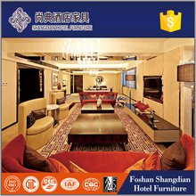 Fancy ergonomic arabic hotel bedroom /living room furniture factory