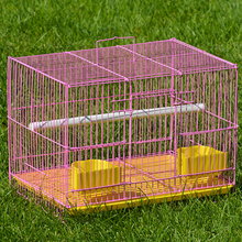 Luxury rabbit breeding cage,indoor steel wire welding rabbit cage trays Folding Metal Small Animal Cage