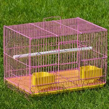 luxury rabbit breeding cageindoor steel wire welding rabbit cage trays folding metal small animal