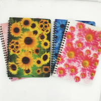 New Promotional 3D Spiral Notebook A4 Paper
