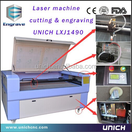 China laser vinyl cutting machine/ laser engraver cut machine