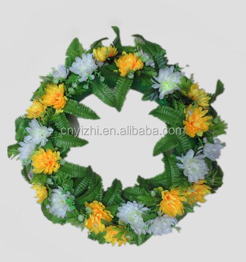 6 Handmade Artificial Flowers Silk Roses Kissing Flower Ball Diy Bouquet Craft Home Wedding Party