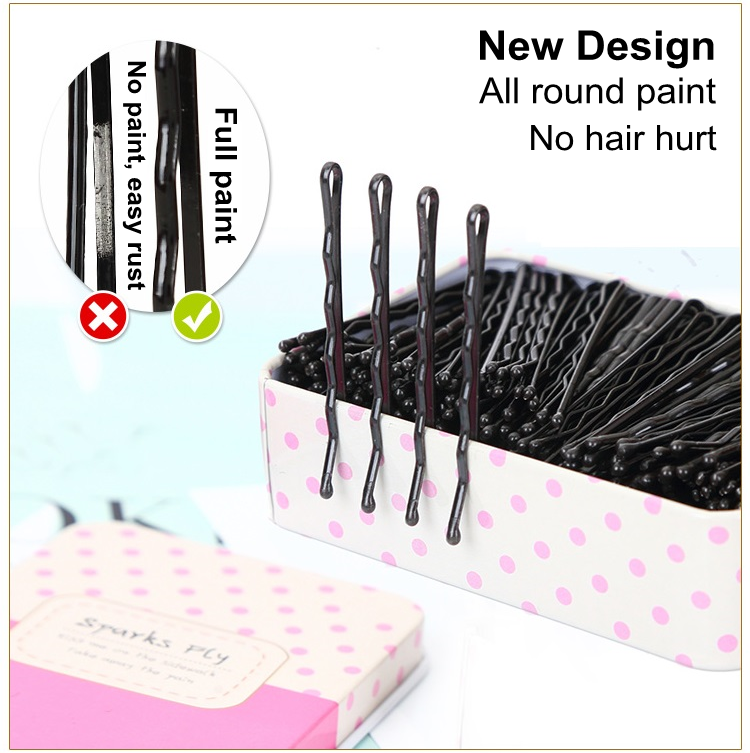 Wholesale Hig Quality Fashionable Women Decorative Bobby Hair Pins