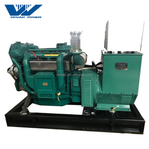 High quality 100kw marine diesel generator with Weichai or Cummins engine