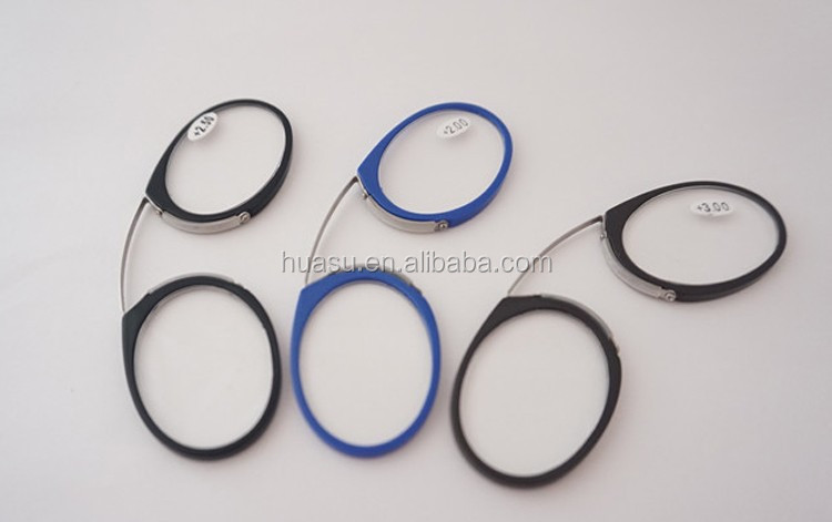 Eyeglass Frames Without Temples : Wholesale wallet reading glasses mini pince-nez reading ...