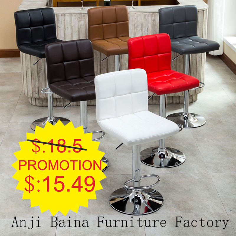 swivel bar chair vanity stools chair counter modern adjustable seat furniture