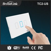 BroadLink TC2 US standard programmable digital timer smart wall switch 3 gang