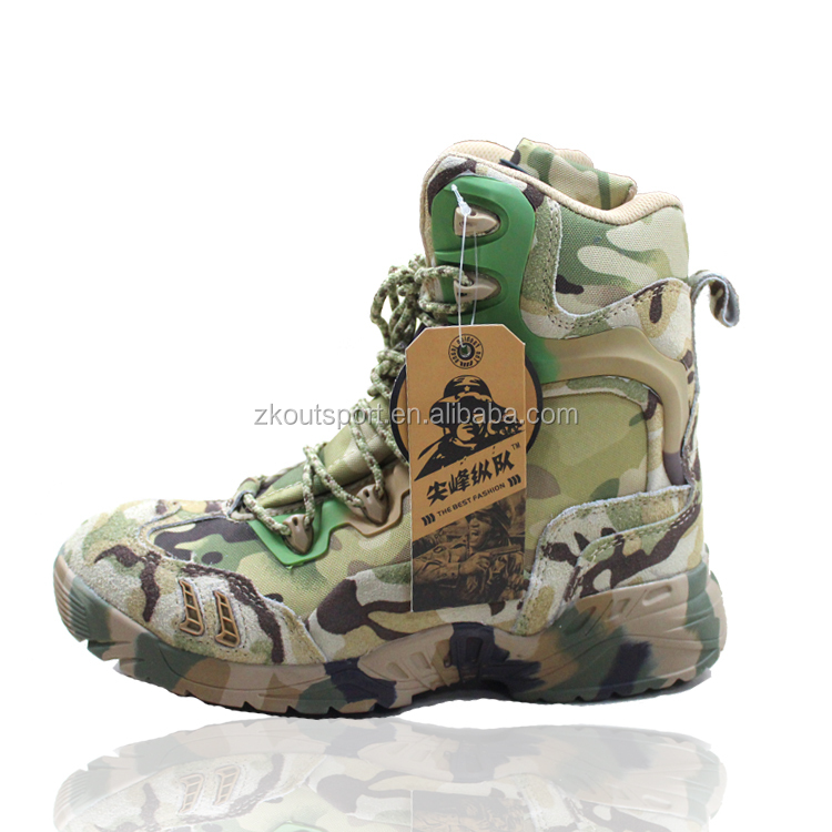Hot selling military tactical combat boots