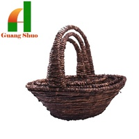 color wicker basket economic professional products factory supply