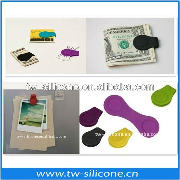 Silicon magnetische bladwijzer clips bookmark paperclip